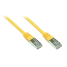 Cat.5e - FTP - 1m - yellow