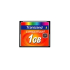 Transcend TS1GCF13 - 1 GB CF 133X Compact Flash Card