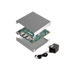 PC Engines APU1D4 Bundle (Board, Power Supply, Memory, Case)