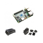 UP Bundle with Board (4 GB RAM/32 GB eMMC), Plastic Case, Power Adapter