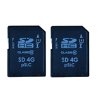 PC Engines SD4B_2 - 2x 4 GB SD Cards