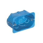 Flush Mounting Box 3M for Cavity Walls, Light Blue